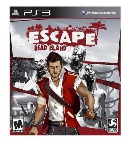 Escape Dead Island Ps3 Midia Digital Psn Envio Imediato