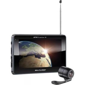 Navegador Gps Automotivo Multilaser 7 Câmera Ré Com Nota Fis