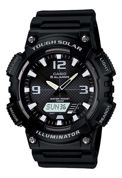 Relógio Casio Masculino Tough Solar Aq-s810w-1avdf