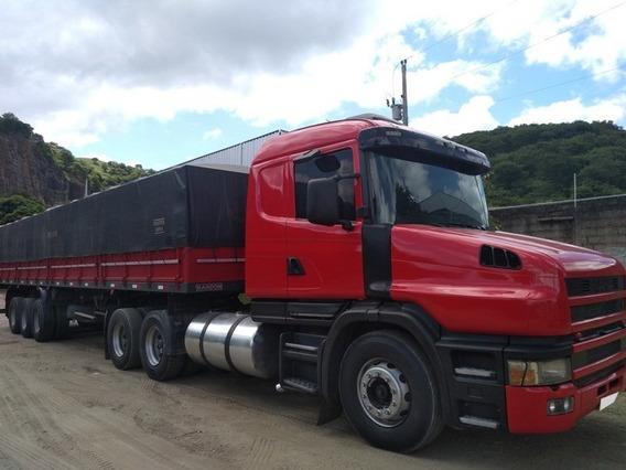 Conj. Scania T114 360 6x2 Ano 1999 + Carreta Ls Randon 2005