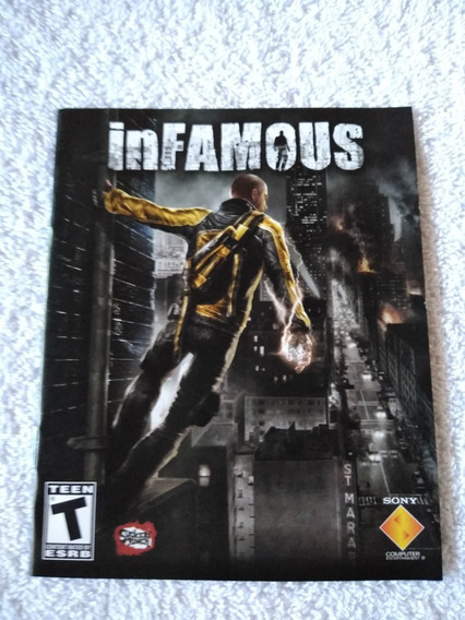 Manual Do Game Infamous Ps3 *** Leia