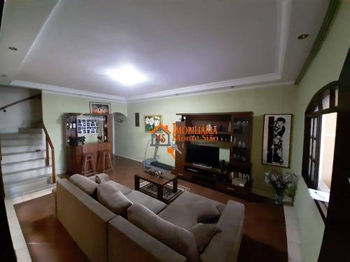 Sobrado Com 3 Dormitórios À Venda Por R$ 580.000,00 - Jardim Bom Clima - Guarulhos/sp - So0740
