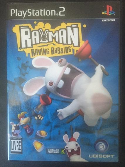 Rayman Raving Rabbids Plastation 2 Original