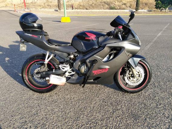 Honda Cbr600 F4i 2002 Negra/roja No Nacional