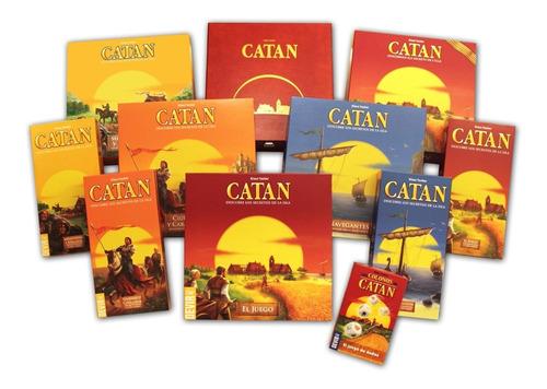 Imagen 1 de 4 de Juego Catan Con Todas Las Expansiones Para Imprimir