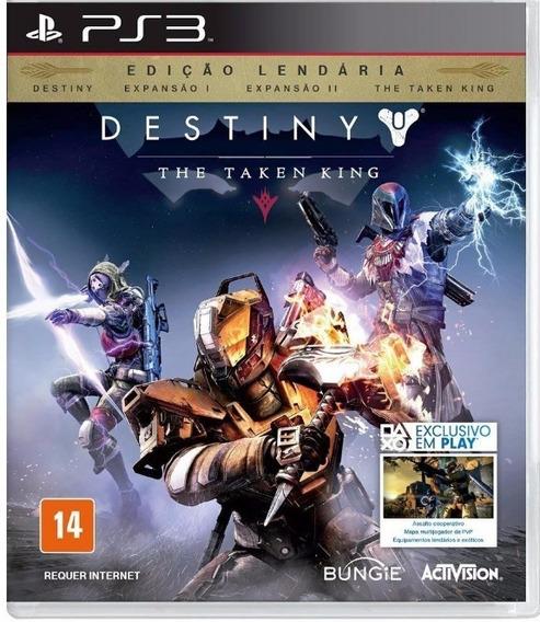 Destiny The Taken King - Ed. Lendária. Jogo Ps3 Em Oferta.