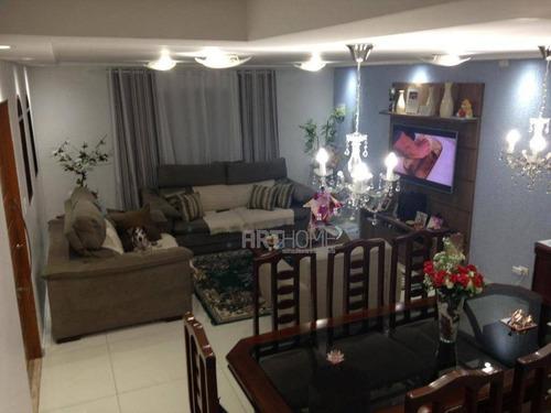 Sobrado Com 3 Dormitórios À Venda, 220 M² Por R$ 750.000,00 - Vila Vivaldi - São Bernardo Do Campo/sp - So0350