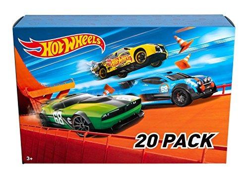 Set De 20 Autos De Hot Wheels