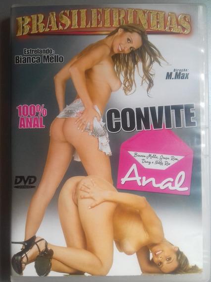 Dvd Pornô Brasileirinhas : Convite Anal ( Original )