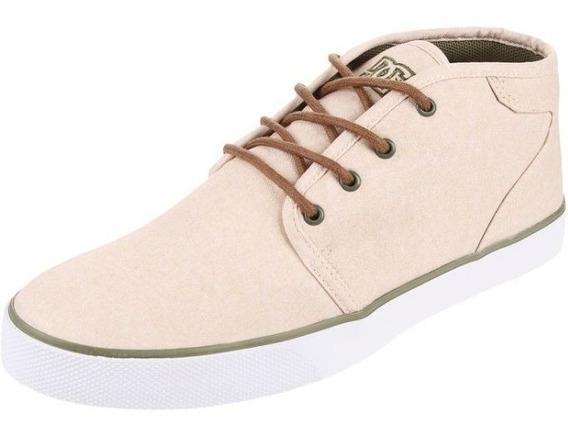 Zapatilla Beige Dc Shoes Studio Mid Se