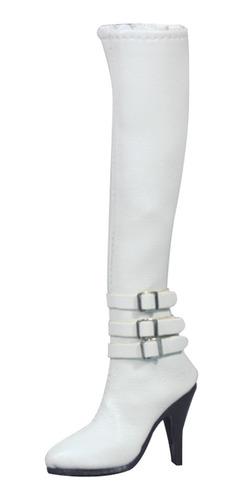 Imagen 1 de 8 de 1/6 Escala Botas De Tacón Alto Ropa De Mujer Para 12 Figura