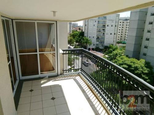Apartamento Para Alugar, 117 M² Por R$ 3.800,00/mês - Vila São Francisco - São Paulo/sp - Ap2450