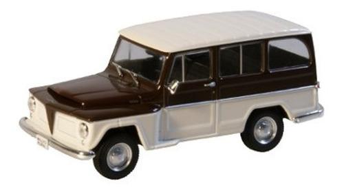 Imagem 1 de 4 de Miniatura Rural Willys 1968 Escala 1/43
