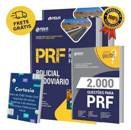 Kit Apostila Prf - Policial Rodoviário + Caderno De Questões