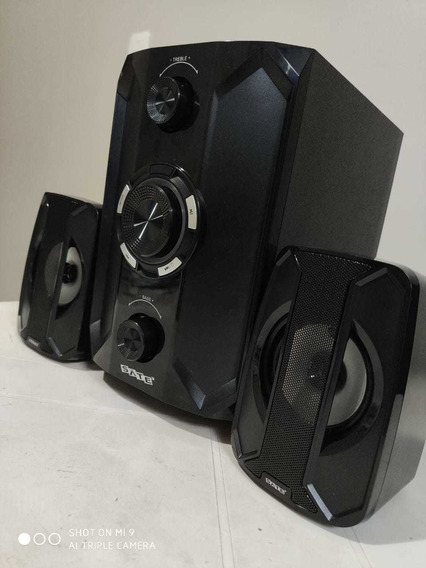 Multimídia Subwoofer Bluetooth - Sate As-635bl