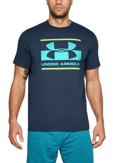 Under Armour Playera Blocked Hombre Korridorirunshop