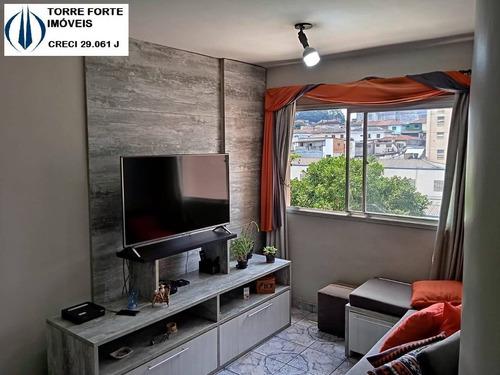 Imagem 1 de 15 de Apartamento Com 2 Dormitórios E 1 Vaga No  Sacomã - 2665