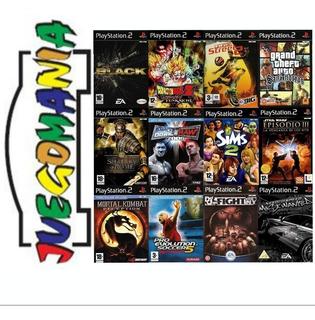 Juegos Y Roms Ps2 Playstation 2 De Colección Amplio Catálogo