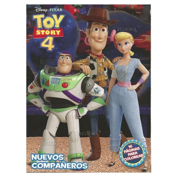 Libro Colorear Toy Story 4 - 16 Pg Recuerdos Fiesta Infantil
