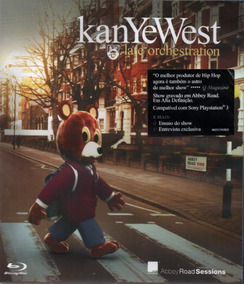 Blu-ray Kanye West Late Orchestration - Frete 10 Reais