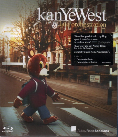 Blu-ray Kanye West Late Orchestration