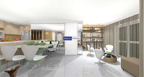 Imagem 1 de 15 de Apartamento Moema 02 Suites 02 Vagas - V-16227