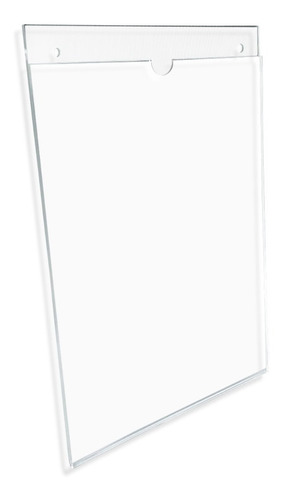 Imagen 1 de 4 de Porta Hojas Carta Vertical, Acrílico De 3mm