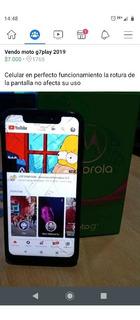 Motorola Moto G 7play 2019