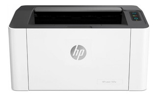 Impresora HP 107W con wifi 220V blanca y negra