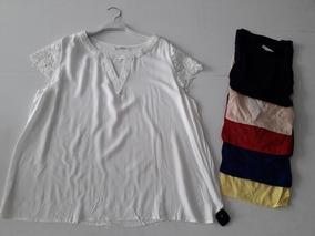 Blusa Renda Feminina Plus Size Gordinha Moda Tendencia Verão