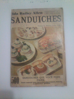 Revista Ilustrada - Sanduiches - Ida Bailey Allen