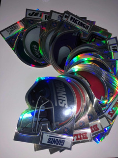 Calcos Stickers Nfl Nba