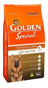 Ração Golden Special Carne E Frango Cães Adultos 20 Kg