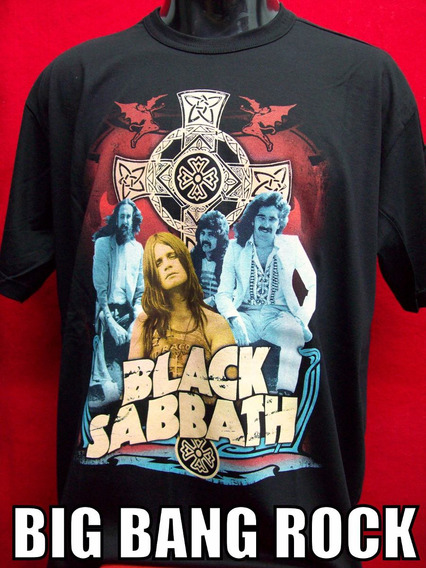 Remera Black Sabbath Grupo Talle L - Large ( 52 Cm X 72 Cm )