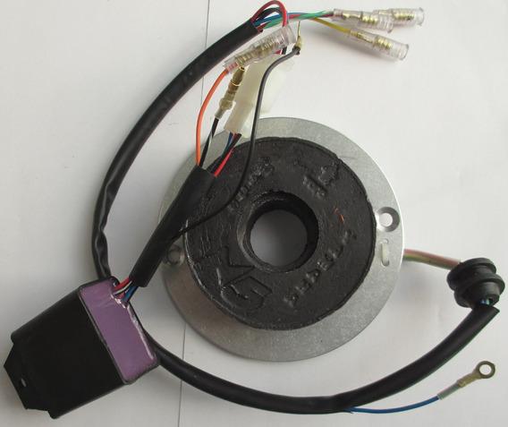 Ignição Para - Rx80/125 - Tt125 Contrôle Digital 6 Ou 12v