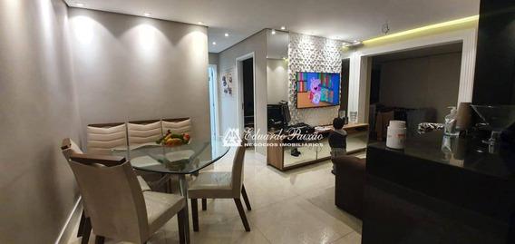 Apartamento Com 2 Dormitórios À Venda, 68 M² Por R$ 510.000,00 - Jardim Flor Da Montanha - Guarulhos/sp - Ap0060