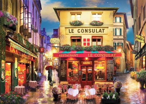 Pintura Numerada Paris - Montmartre - Le Consulat_p2
