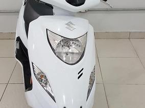 Suzuki Burgman I 125 2016 Branca