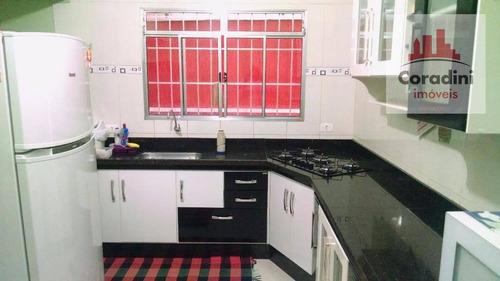 Imagem 1 de 21 de Casa Com 3 Dormitórios À Venda, 172 M² Por R$ 360.000 - Parque Nova Carioba - Americana/sp - Ca1045