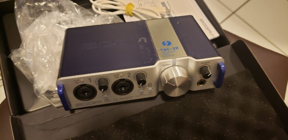 Tac-2r Thunderbolt Interface/placa De Audio Zerada Na Caixa