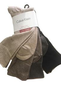 Pack 4 P Calcetines Calvin Klein Imp Eu. 100% Original .