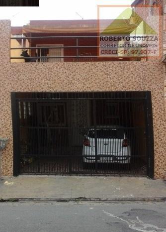Sobrado Para Venda Em São Paulo, Vila Princesa Isabel, 3 Dormitórios, 1 Banheiro, 2 Vagas - 00553_1-1335558