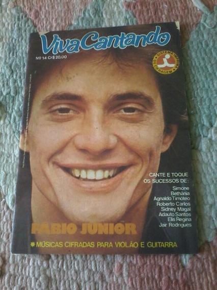 Revista Viva Cantando Fábio Júnior.