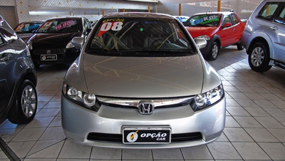 Civic 2008 1.8 Lxs Flex Aut. 4p