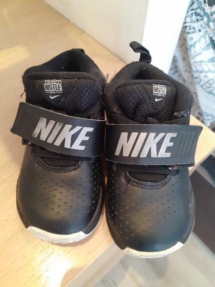 Tênis Nike Infantil Masculino Couro Ótimo Estado - 22
