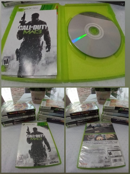 Games Jogos Call Of Duty: Modern Warfare 3 Xbox 360 Original