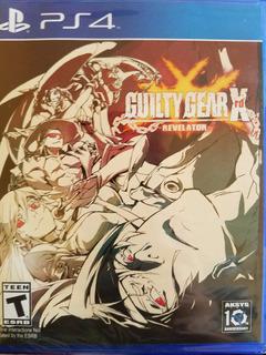 Guilty Gear Xrd Revelator Ps4 Sellado Delivery Stock Ya