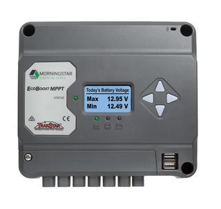 Regulador Solar Mppt Morningstar Ecoboost Display 20a 12/24v