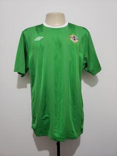 Camisa Futebol Seleção Irlanda Do Norte 2010 Home Umbro Gg