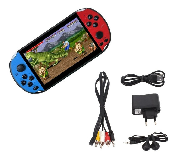 Video Game Portátil Retro Jogos Arcade Nintendo Gba Sega Nes